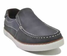 Tanggo Smith Formal Shoes Leather Shoes Slip-On for Men (blue/brown) SIZE 43