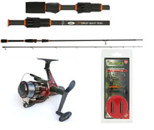 NGT Dynamic Drop Shot Carbon Fishing Rod with Reel & line & Weight Hook etc