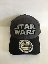 NWT NEW ERA CAP STAR WARS LOGO REFLECTOR 39THIRTY DARTH VADER LG ONE SIZE FITS A