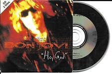 CD CARDSLEEVE BON JOVI HEY GOD + THESE DAYS LIVE 2T DE 1996 TBE