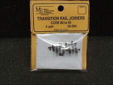 Micro Engineering #26-004 Transition Rail Joiner Code 80 To 55