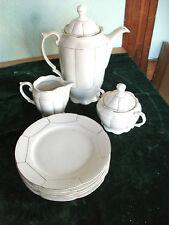 Kaffeegeschirr;20er Jahre;Porzellan;Kaffeeset;Kanne;Zucker;Milch