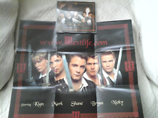 WESTLIFE - BOP BOP BABY LIMITED EDITION CD SINGLE + BAND INTERVIEW & POSTER