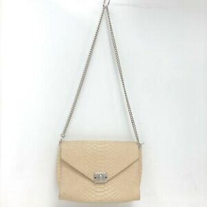 Mulberry Delphie Reversible Handbag Cream Yellow Snakeskin Print Bag 301383