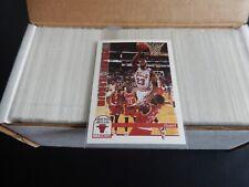1992-93 Hoops Series 1 Basketball Set #1-350 Michael Jordan Nice Cards
