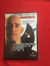 New on opened masters of music have a guitar DVD by Scott Ian