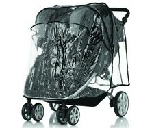 Britax b-Agile Double Rain Cover for Baby Double Stroller Clear