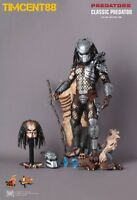 Hot Toys MMS162 Predators Classic Predator 14 inch Figure Normal Edition
