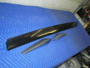 1982-92 Camaro Rear Hatch Deck Spoiler Air Dam 3 Piece GM ORIGINAL TPI