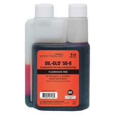 SPECTROLINE OIL-GLO 50-8 Dye,Oil,Red,8oz.