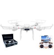 FPV Wifi 3D Drohne/Quadcopter in Alukoffer mit HD Livebild C4010 Cam-Coming Home