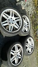 "4X 18"" Mercedes AMG Style Alloy Wheels 8.5JX17H2 ET34 And 245/45/18 Tyres."