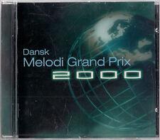 Dansk Melodi Grand Prix 2000 - Danish Eurovision Song Contest ESC CD Denmark