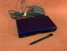 Nintendo DS Lite Cobalt Blue & Black System Console & Charger USG-USA-1