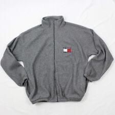 VINTAGE California Fleece Jacket Adult XL 1X Big Box Logo San Francisco Oversize