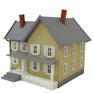 MODEL POWER 781 HO SCALE JACKSON'S HOUSE BUILT-UP BUILDING LIGHTED - NEW