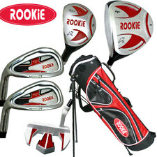 JUNIOR LH GOLF SET 6 PCE for KIDS 10yrs plus WITH HYBRID - CHILDRENS GOLF CLUBS