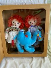 Dakin Raggedy Ann & Andy and The Camel with the Wrinkled Knees collector set NIB