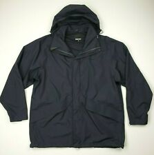 Rohan Barricade Mens Outdoor Hiking Jacket Size XL Navy Blue Waterproof