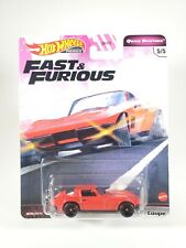 Hot Wheels Fast & Furious QUICK SHIFTERS '65 Corvette Stingray Real Riders NEW