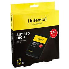"""kQ Intenso 2,5"""" SSD intern High Performance 240 GB SATA III Festplatte"""