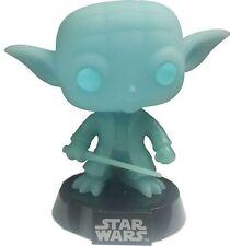 Funko Pop Yoda Spirit # 02 Star Wars Glow in The Dark Vinyl Bobble Head Figure