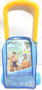 Disney Kinder Schlauchboot 112x71 cm Schwimmboot 4 tgl Set Schwimmring Bestway