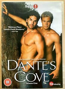 Dante's Cove Season 1 DVD Gay Interest TV Series w/ William Gregory Lee