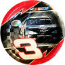 NASCAR Dale Earnhardt LARGE PAPER PLATES (8) ~ Birthday Party Supplies Dinner