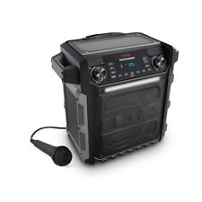 Ion Pathfinder Gray 100w/75Hr Rechargeable All Weather Bluetooth Speaker Mic