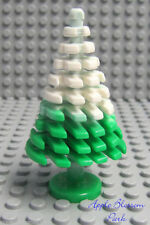 NEW Lego Green ChristmasTREE w/White Snow -Holiday Plant -Belville/Friends -RARE