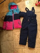 SNOW Ski winter snow ski Jacket pants and Coat Youth girls Size 6x
