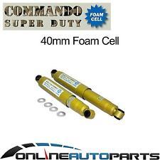 2 Rear Foam Cell Shock Absorbers Holden Isuzu Rodeo KB KBD RA TF TFR TFS 1978-08