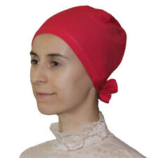 Muslim Women Cotton Hijab Bonnet Underscarf - Pink Grapefruit
