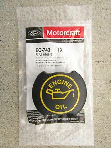 FORD MERCURY 3FAZ-6766-B MOTORCRAFT EC743 EC-743 ENGINE OIL FILLER CAP OEM NEW