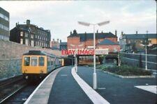 PHOTO  1979 WIGAN WALLGATE RAILWAY STATION PLATFORMS 1979 REBUILT WALLGATE RAILW