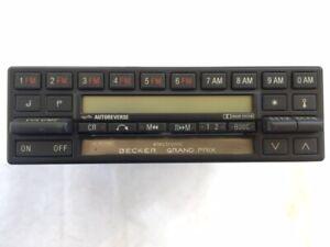 Becker Grand Prix 002 820 38 86 Mercedes Benz Cassette AM/FM