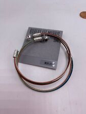$35 Robert Lee Morris silver tone ~ mixed patina open hoop earrings Jr1Aa