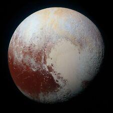 Pluto Planet Galaxy Space NASA, Reprint Photo 8x8 Inch
