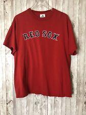 Men's Adidas MLB Boston Red Sox Red T-Shirt 2006 Logo Size L