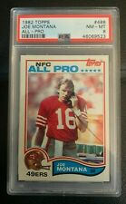 1982 Topps Joe Montana All-Pro #488 PSA 8 NM-MT