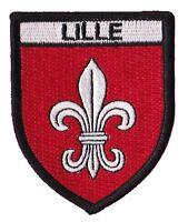 Patche écusson Lille Lillois ville badge patch thermocollant brodé Chti