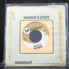 "Bob Moore - Mexico / Hot Spot 7"" VG+ 45446 Vinyl 45 Monument 1961"
