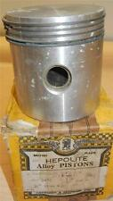 "1935-1940? Matchless 500cc original NOS 82.5mm +030"" bore Heplex piston assembly"