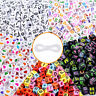 1000pcs Würfel Herz Perlen Brief Perlen DIY Armband Making + Crystal Cords