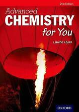 Advanced Chemistry for You New Paperback Book Lawrie Ryan