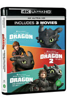How To Train Your Dragon 3-Movie Collection 4K UHD only (2019)