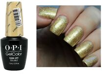 OPI Gelcolor Alice ~MIRROR ESCAPE~ Glittering Gold UV/LED Gel Nail Polish GC BA6