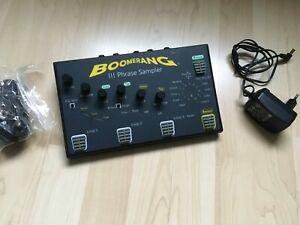 Boomerang III Phrase Sampler Stereo Looper Pedal