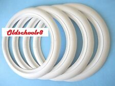 "ATLAS Brand 12"" Whitewall Portawall Tire insert Trim set 4 pcs"